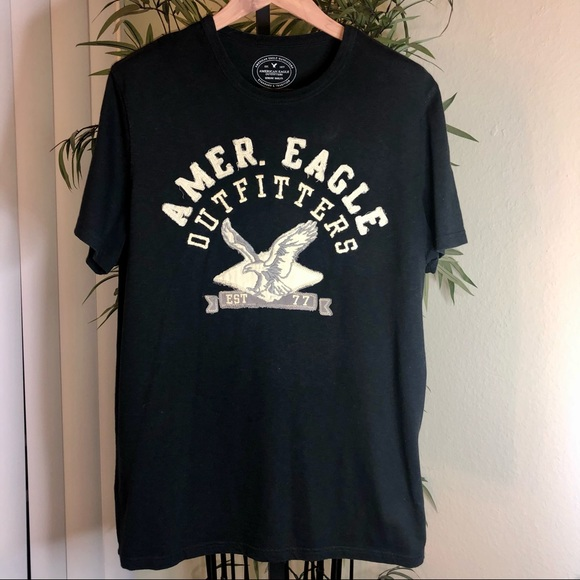 American Eagle Mens XL Embroidered TShirt